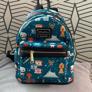Disney x LoungeFly Park Attractions Mini Backpack